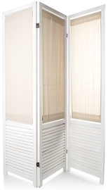 Mondex Folding Screen White 170x135x2cm