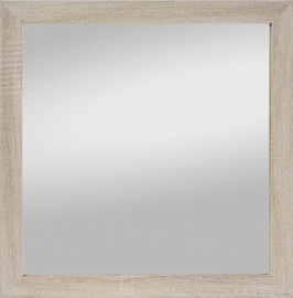 Spogulis Spiegel Profi Kathi Sonoma Oak, stiprināms, 45x45 cm
