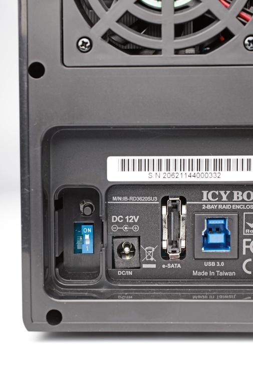 """ICY BOX 3.5"""" Dual RAID System USB 3.0"""