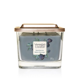 Yankee Candles Elevation Collection Dark Berries 3-Wick Candle 347g