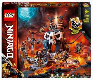 Конструктор LEGO®Ninjago Подземелье колдуна-скелета 71722