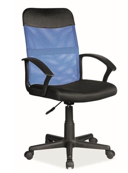 Biroja krēsls Signal Meble Q-702 Blue/Black