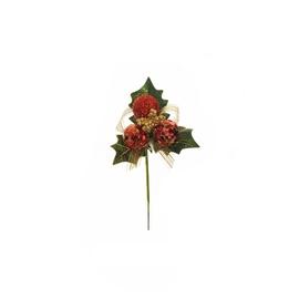 Lente sarkana 80-307668 6 cm
