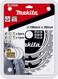 Makita B-33906 Circular Saw Blade 190x30mm 3pcs