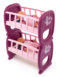 Smoby Baby Nurse Bunk Cot For Twins