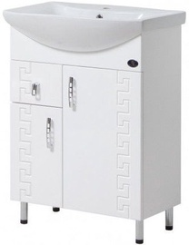 Vannas istabas skapītis Julius Trading Gracia T0116GCAr 600x820x309mm White