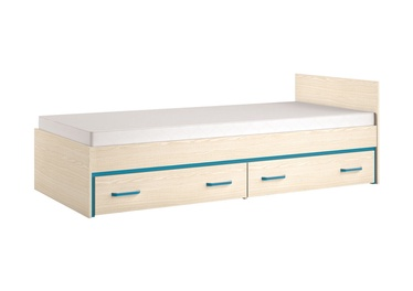 ML Meble Bonti 15 Bed Turquoise