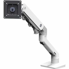 Ergotron HX Monitor Desk Mount White
