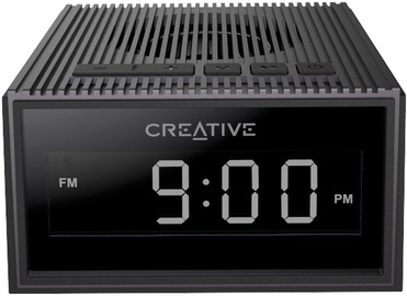 Belaidė kolonėlė Creative Chrono Wireless Speaker with FM Radio Black