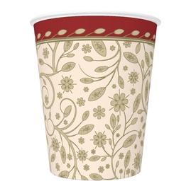 Vienkartiniai puodeliai, 250 ml, 8 vnt