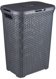Curver Natural Style with Lid 60l Grey