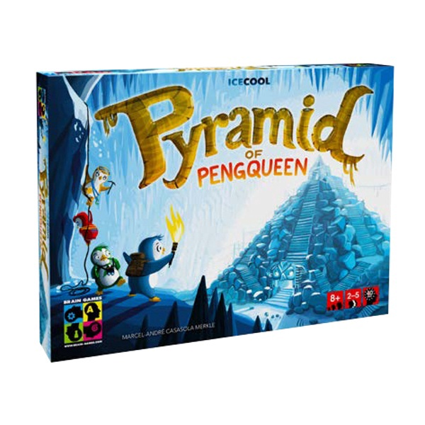 Stalo žaidimas Brain Games Pyramid of Pengqueen