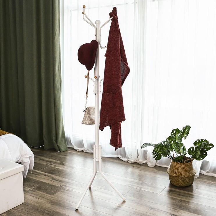 Вешалка для одежды Songmics, белый