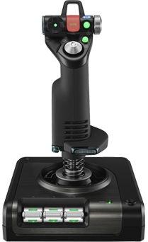 Джойстик Logitech Saitek X52 Pro Flight Control System