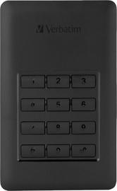 Жесткий диск Verbatim Secure G1, HDD, 256 GB, черный
