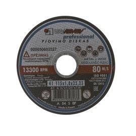 Lõikeketas teras Inox Luga Abraziv 230x2,0x32 mm