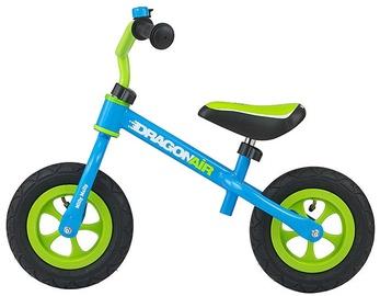 Vaikiškas dviratis Milly Mally Dragon Air Balance Bike Blue 2763