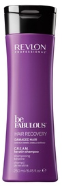 Revlon Be Fabulous Hair Recovery Cream Keratin Shampoo 250ml