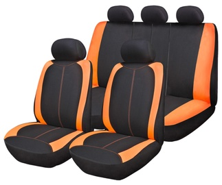Bottari R.Evolution Formentera Seat Cover Set Black Orange 17095