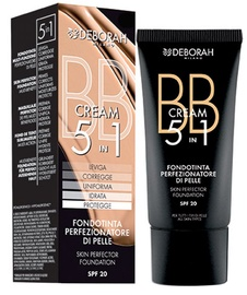 BB sejas krēms Deborah Milano 5in1 Foundation SPF20 02, 30 ml