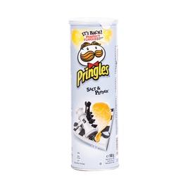 Bulvių traškučiai Pringles Salt & Pepper, 165 g