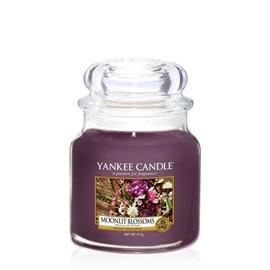 Ароматическая свеча Yankee Candle Medium Jar Candle Moonlit Blossoms, 411 г, 90 h