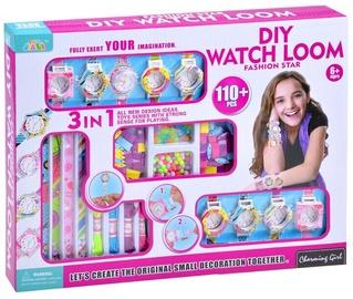 Rotaļlietu skaistumkopšanas komplekts Charming Girl Diy Watch Loom