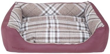 Amiplay Kent Dog Sofa ZipClean 4in1 XS 48x40x16cm Burgundy