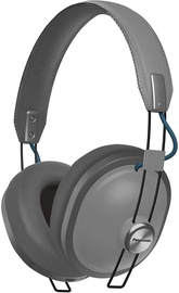 Ausinės Panasonic RP-HTX80BE Bluetooth Over-Ear Grey, belaidės