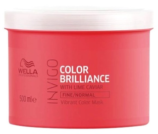 Wella Invigo Color Brilliance Vibrant Color Mask 500ml Normal Hair