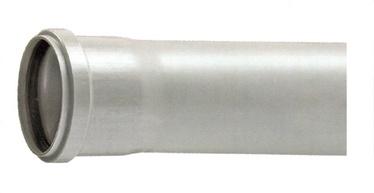 Kanalizācijas caurule Bees D50x1000mm, PVC