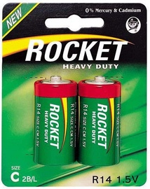 Rocket R14-2AA C Batteries 2x