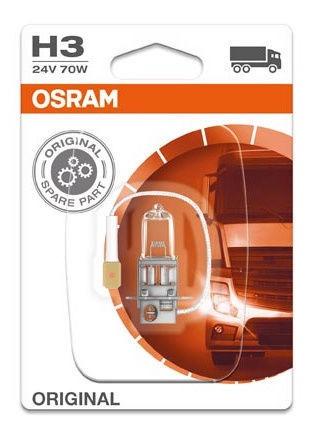 Автомобильная лампочка Osram H3 70W 24V PK22S 64156-01B