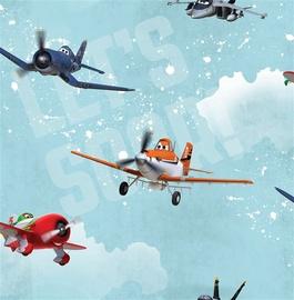 Papīra tapetes 70-237, ar lidmašīnām