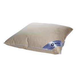 Merkys Duck Feathers Pillow 68x68cm Beige