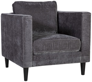 Fotelis Home4you Spencer Dark Gray, 81x86x86 cm