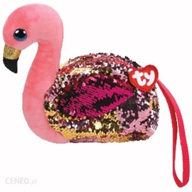 Pliušinė piniginė flamingas ty95227