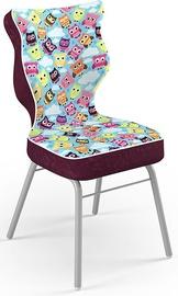 Детский стул Entelo Solo Size 3 ST32, фиолетовый/многоцветный, 310 мм x 695 мм