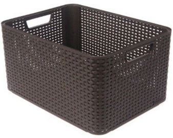 Curver Rattan Style Box L Brown