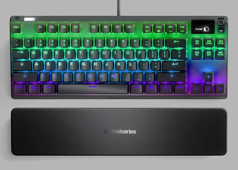 Žaidimų klaviatūra Steelseries Apex 7 QX2 Red EN