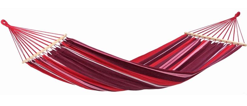 Amazonas Samba Fuego Double Hammock With Spreader Bar Red Pink