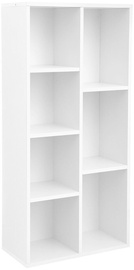 Songmics Book Shelf White 24x50x106cm