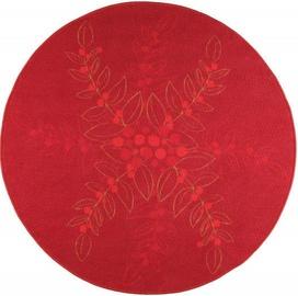 Ковер 4Living Taru Red/Gold, 100x100 см