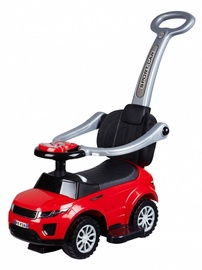 Funikids Sport Car Ride On With Holder And Sound Light Red