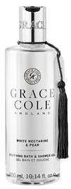 Dušo želė Grace Cole Soothing White Nectarine & Pear, 300 ml