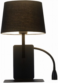 Light Prestige Dakota Wall Lamp 60W E27 Right Black