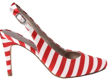 Tamaris Joie Pumps 1-1-29614-30 Red Stripes 38