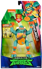 Rotaļlietu figūriņa Playmates Toys Teenage Mutant Ninja Turtles Michelangelo BackFlip Ninja Attack 81403