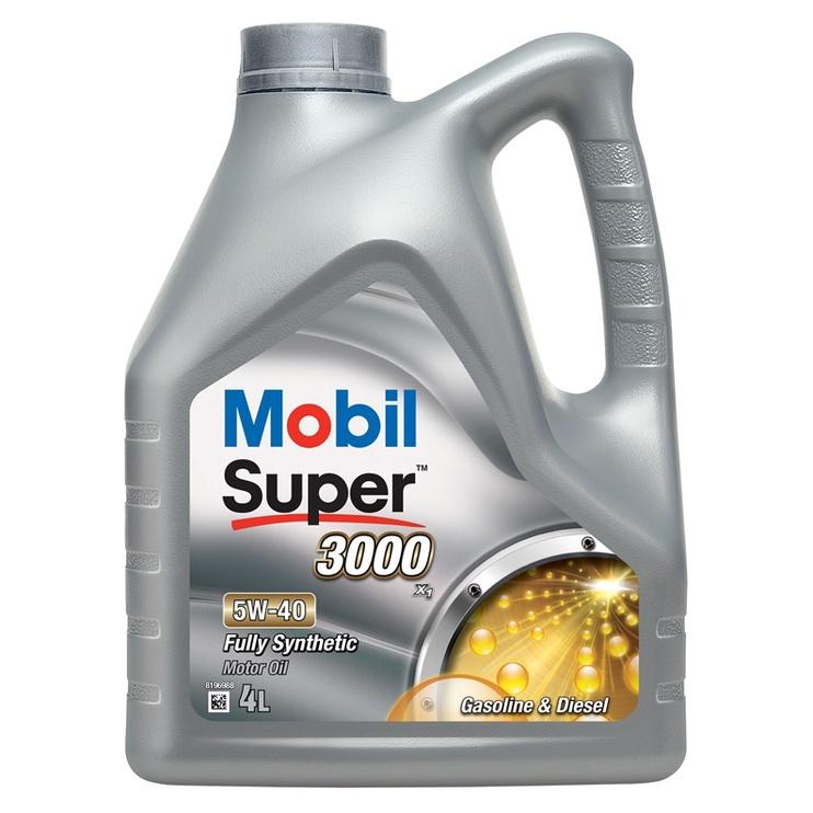 MOTOREĻĻA MOBIL SUPER 3000X1 5W40 4L