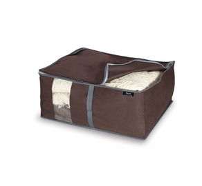 Domopak Classic Cover For Blankets 55x45x25cm Brown